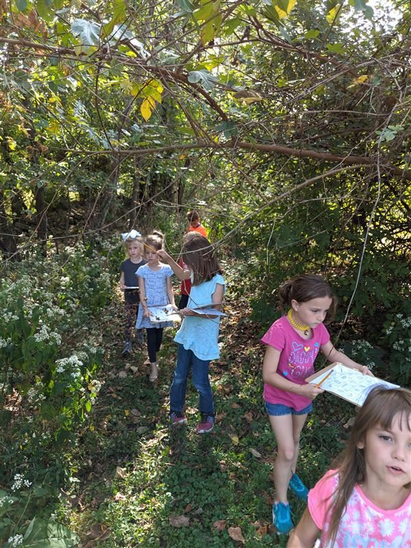 Lincoln Green Thumbs ~ Nature Scavenger Hunt
