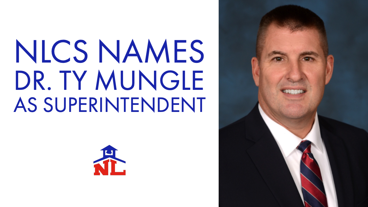 NLCS Names Dr. Ty Mungle as Superintendent